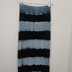 Design History Skirt Women's  Black Grey White L